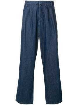 Levi's: Made & Crafted loose fit trousers - Blue