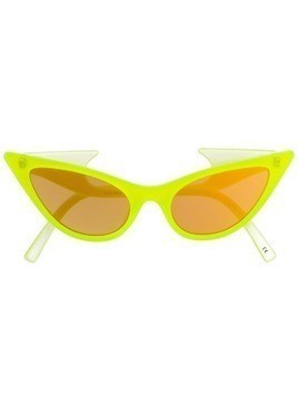 Le Specs x Adam Selman The Prowler sunglasses - Yellow