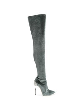 Casadei Techno Blade over-the-knee boots - Grey
