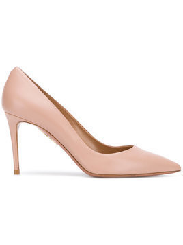 Aquazzura leather pumps - Pink & Purple