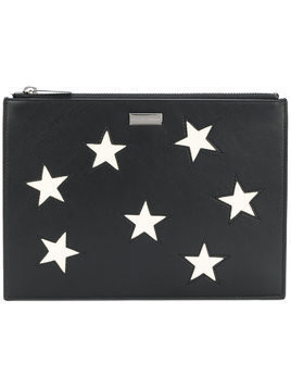 Stella McCartney Stars clutch bag - Black