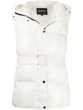 Duvetica quilted down gilet - White