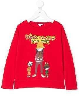 Little Marc Jacobs Miss Marc T-shirt - Red