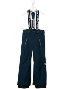 Rossignol Kids Hiver dungaree trousers - Blue