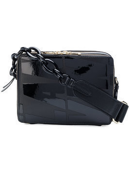 Lanvin zip around shoulder bag - Black