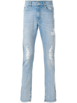 Mjb distressed straight-leg jeans - Blue