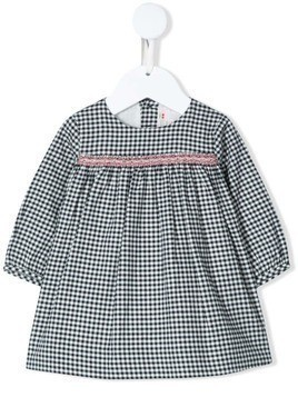 Bonpoint gingham check dress - Black