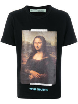 Off-White - Temperature T-shirt - Herren - Cotton - XL - Black