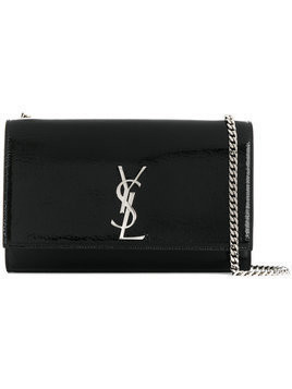 Saint Laurent - medium Kate chain bag - Damen - Leather - One Size - Black