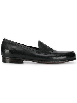 Lidfort classic penny loafers - Black