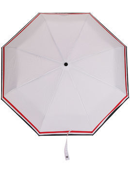 Thom Browne Tech Fabric Travel Umbrella - White