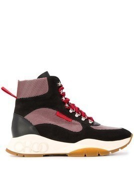 Jimmy Choo Inca high-top sneakers - Black