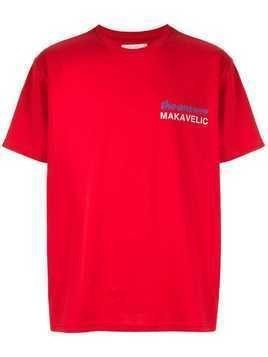 Makavelic Index Finger T-shirt - Red