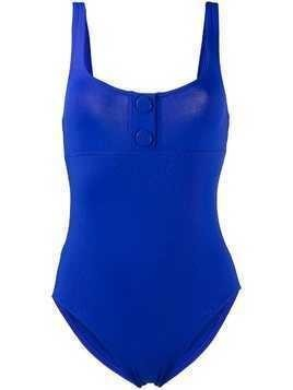 Eres decorative buttons one-piece - Blue