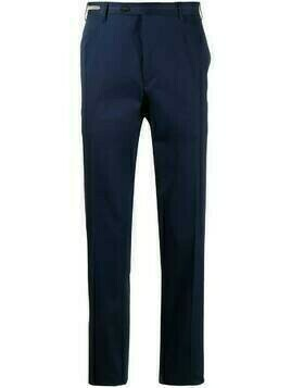Corneliani Leader slim-fit trousers - Blue