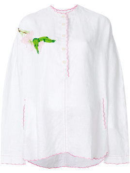 Natasha Zinko embroidered tunic - White