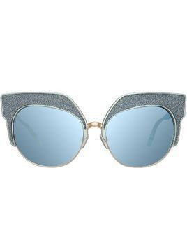 Matthew Williamson MW181C1SUN BLUE ALU LT GOLD BLUE GLITTER JADE
