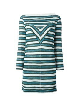 Louis Vuitton Vintage striped dress - Green