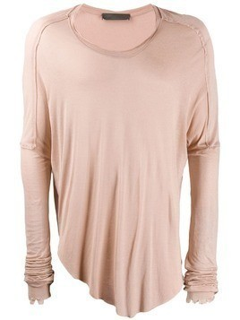 Di Liborio distressed effect T-shirt - Neutrals