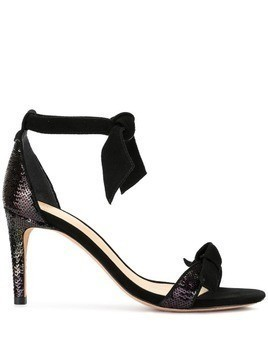 Alexandre Birman sequinned stiletto sandals - Black