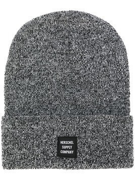 Herschel Supply Co. mesh knit rolled beanie - Black