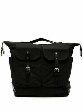 Ally Capellino Frank Waxy backpack - Black