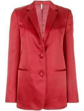 Helmut Lang single-breasted blazer - Red