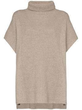 Joseph roll-neck cashmere jumper - Grey