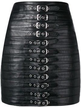 Manokhi belted mini skirt - Black