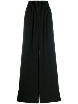 Ea7 Emporio Armani wide leg trousers - Black
