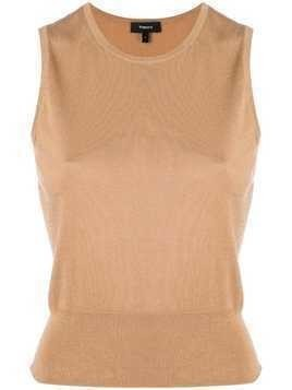 Theory slim fit vest - Nude & Neutrals