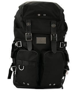 Makavelic Sierra Double Bottles backpack - Black