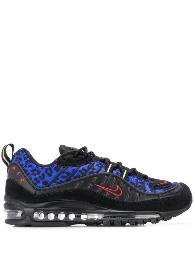 Air Max 98 suede and mesh sneakers