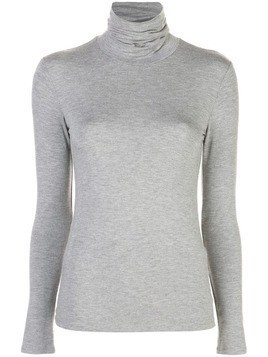 Majestic Filatures turtleneck jumper - Grey
