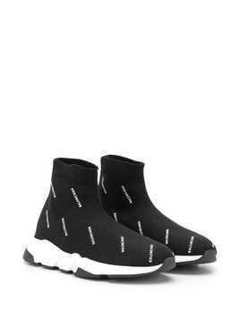 Balenciaga Speed knit sneakers - Black