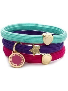 Marc Jacobs sporty pony bracelet set - Pink & Purple