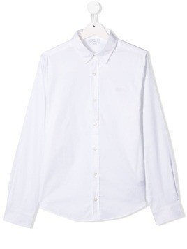 Boss Kids classic collar shirt - White