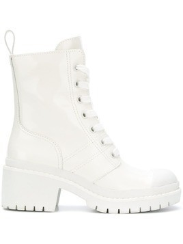 Marc Jacobs lace-up ankle boots - White