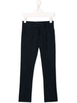 Harmont & Blaine Junior tailored straight leg trousers - Blue