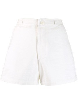 Antik Batik high-rise shorts - White