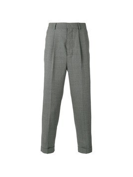 Ami Alexandre Mattiussi high-waisted pleated trousers - Grey