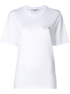 Stella McCartney plain round neck T-shirt - White