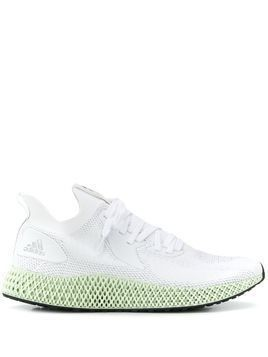 adidas slim runner sneakers - White