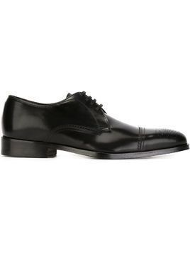 Canali derby shoes - Black