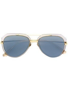 Bolon aviator style sunglasses - Gold