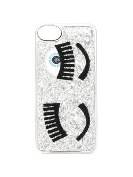Chiara Ferragni Flirting glitter iPhone 7 case - Metallic