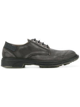 Pezzol 1951 - distressed lace-up shoes - Herren - Canvas/rubber - 41 - Black