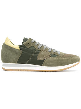 Philippe Model - Tropez sneakers - Herren - Suede/Leather/Nylon/rubber - 44 - Green