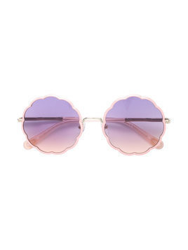 Chloé Kids flower shaped sunglasses - Pink & Purple
