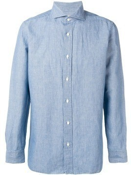 Borrelli casual shirt - Blue